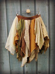 ML Bohemian Gypsy Fairy Skirt// Eastern Influence// by emmevielle, $85.00