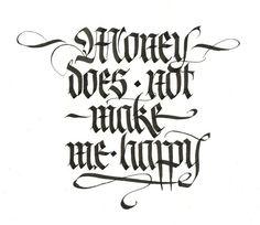 Alex Timokhovsky Calligraphy