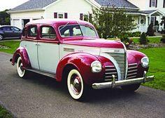 1939 Plymouth Sedan....
