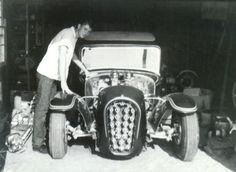 Old Hot Rods, Traditional Hot Rod, Classic Hot Rod, Retro Futuristic, Automotive Art, Custom Cars, Cool Cars, Old School, Antique Cars