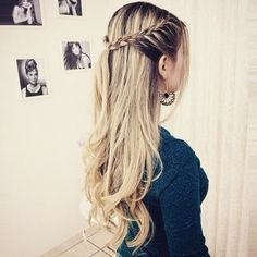 25 Easy Hairstyle Ideas for School, Looking for easy hairstyle ideas for school? Then let's look at With Hairstle's wisely chosen hair gallery below. All these easy hairstyles are look., Hairstyle Ideas schule, 25 Easy Hairstyle Ideas for School Easy Hairstyles For Long Hair, Up Hairstyles, Braided Hairstyles, Hairstyle Ideas, Romantic Hairstyles, Simple Hairstyles For School, Wedding Hairstyles, Hairstyles For Picture Day, Hair Styles For Long Hair For School