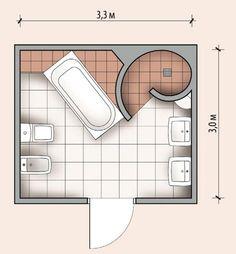 Personalized Modern Bathroom Design created by .- Personalisiertes modernes Badezimmer-Design geschaffen durch ergonomisches, Platz sparendes Layout Personalized modern bathroom design created by ergonomic, space-saving layout - Diy Bathroom, Bathroom Layout, Modern Bathroom Design, Bathroom Flooring, Bathroom Interior, Small Bathroom, Bathroom Remodeling, Bathroom Ideas, Bathroom Organization