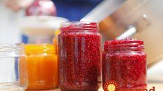 Ako pripraviť marmelády bez želírovacieho cukru a zbytočných konzervantov? Hot Sauce Bottles, Pesto, Salsa, Food And Drink, Jar, Homemade, Canning, Drinks, Recipes