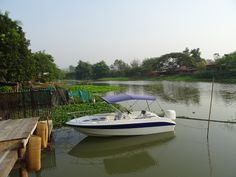 An intimate and exclusive hotel near Bangkok, Thailand Bangkok, Thailand, Bohemian, Boat, Dinghy, Boats, Boho