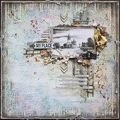 "janeza's art blog: Мини-альбомчик ""Wonderful Life"""