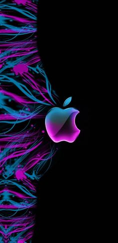 Ombre Wallpaper Iphone, Ombre Wallpapers, Apple Logo Wallpaper, Iphone Backgrounds, Screen Wallpaper, Phone Wallpapers, Wallpaper Quotes, Colorful Backgrounds, Purple Fire
