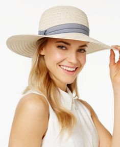 83ac643be74 August Hats Denim Delight Floppy Hat - All Accessories - Handbags    Accessories - Macy s.  Hats For Women Outfits
