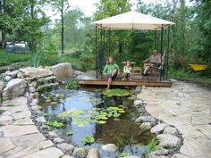 Pond & Waterfall Ideas | Ponds And Waterfalls | ROBIN AGGUS - Natural Landscaping