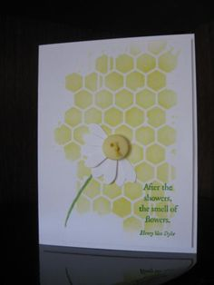 CAS271, TLC480, Daisy by jdmommy - Cards and Paper Crafts at Splitcoaststampers