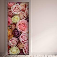 Decorazione Adesiva Colorful Roses