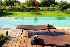 Pavillon de Gallon, Luberon, Provence, France, From the Poolside blog