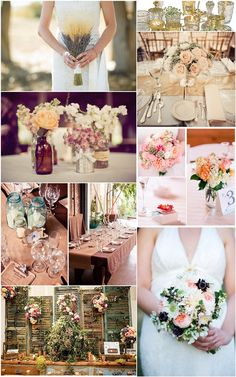 How To Plan A Rustic Chic Wedding by Sparkle and Hay. favorite blog. gorgeous pictures. great tips. must read!