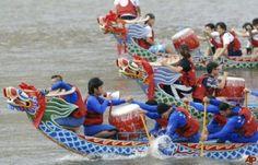 Kết quả hình ảnh cho lễ hội đua thuyền rồng Đài loan