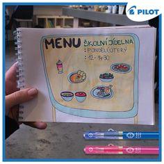 A jaké menu ti dnes připravila tvá školní jídelna? :) #happywriting