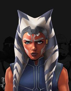 ' The Clone Wars is back tonight! And you've bet I've got a decent pile of art to post in the coming few weeks to celebrate. Star Wars Rebels, Star Wars Clone Wars, Sith, Ahsoka Tano Costume, Asoka Tano, Star Wars Canon, Star Wars Fan Art, Obi Wan, Star Wars Characters