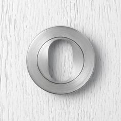 789.L Pittella Contemporary Satin Chrome Door Lock #pittella #contemporary #interior design #satinchrome #Keyescutcheon #doorhardware