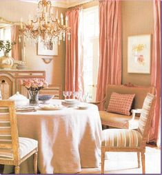 Great colors for dining room