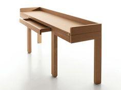Mesa consolas / escrivaninha de carvalho TOM by ESTEL GROUP design Sebastian Bergne