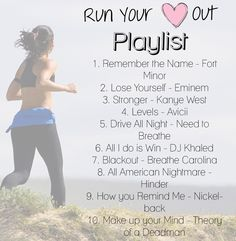 running playlist!