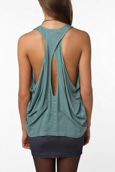 urban has the best open back shirts