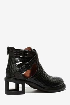 Jeffrey Campbell Sylvestr Leather Bootie - Jeffrey Campbell