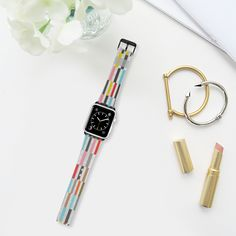 Rocolu - Apple Watch band by Fimbis  #red #yellow #orange #blue #grey #gray #fashionista