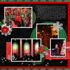 Christmas Decorations & Events at Epcot - Page 4 - MouseScrappers.com
