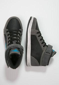 KangaROOS KANGA-STUU - Sneaker high - dark grey/dark smaragd - Zalando.de