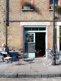 Printers & Stationers Café @ Ezra Street (near Columbia Road) London