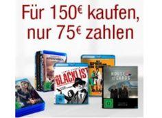 Amazon: Filme und Serien im Wert von 150 Euro für 75 Euro frei Haus https://www.discountfan.de/artikel/technik_und_haushalt/amazon-filme-und-serien-im-wert-von-150-euro-fuer-75-euro-frei-haus.php Filme im Wert von 150 Euro kaufen und dafür nur 75 Euro zahlen: Das ist mit der neuen Rabatt-Aktion von Amazon möglich, die allerdings nur drei Tage läuft. Mit dabei sind zahlreiche Top-Filme. Amazon: Filme und Serien im Wert von 150 Euro für 75 Euro frei Haus (Bild: Amazon.de