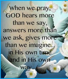 God hears the words from within your heart The Words, Life Quotes Love, Quotes To Live By, Beautiful Words, Bible Quotes, Bible Verses, Scriptures, Power Of Prayer, Prayer Prayer