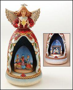 Jim Shore Nativity AngelMotion Music