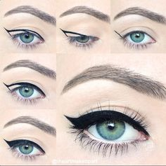 I love this look from @Sephora's #TheBeautyBoard #Tarte #LightsCameraLashes