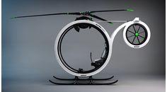 デフォルメされたシンプル・デザインのパーソナルヘリ | roomie(ルーミー)