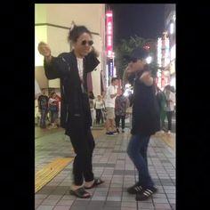 #jamesbrown #dance #step #ダンス #street #asahi #甚平 #joy #funk #sexmachine