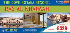 Indulge in a world of luxury and magnificence with The #Cove #Rotana #Resort, #RasAlKhaimah. Exclusive deals and discounts available on all packages. Call now for bookings and details! http://www.southalltravel.co.uk/holidays/middle-east/ras-al-khaimah/thecoverotana-resort.aspx