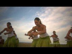 Beautiful traditional hula - Na Hula O Kaohikukapulani hula practice on Kauai