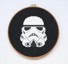 Star Wars Cross Stitch Patterns - Sci-Fi Design