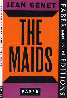 The Maids by Jean Genet by Faber Books, via Flickr
