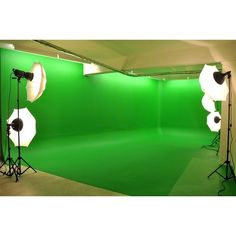 New GREEN SCREEN STUDIO ❤ liked on Polyvore featuring accessories