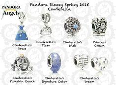 Pandora Disney Spring 2015 with prices Pandora Charms Disney, Pandora Beads, Pandora Bracelet Charms, Pandora Jewelry, Charm Jewelry, Charm Bracelets, Jewelry Box, Cinderella Pumpkin, Estilo Disney