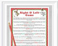 Free Printable Right Left Part Game Frosty The Snowman