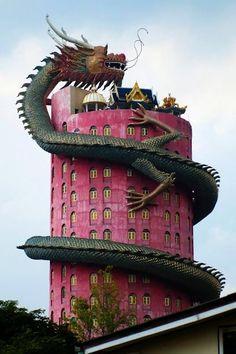 Wat Sampran, Thailand - Visit now for 3D Dragon Ball Z shirts now on sale!