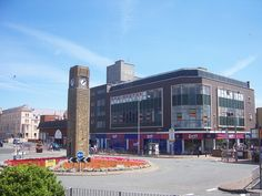 B&M Bargains, Rhyl 2010 Seaside Towns, On The High Street, North Wales, 1970s, Times Square, Street View, Buildings, Travel, Image