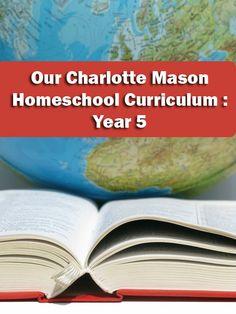 Charlotte Mason Homeschool Curriculum Year 5 via @holisticschool