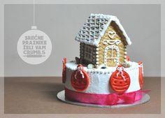 #christmas #house #gingerbread #cake