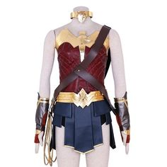 Justice League Wonder Woman Cosplay Costume