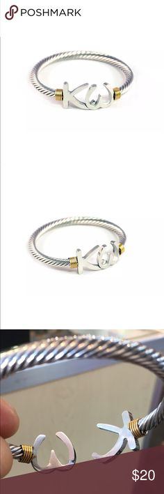 Key west bangle KEY WEST CABLE BRACELET  A twisted warp texture brings a modern sophisticated look to this key west bracelet. crafted of stainless steel , the high polish caff can easily adjust to a majority of wrist.     About stainless steel  with its bright , silver finish and its resistance to tarnish , stainless steel become and increasingly popular choice for fashion jewelry. It is hypo-allergenic Jewelry Bracelets