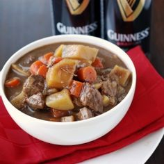 Guiness Beef Stew.  That's what's up!