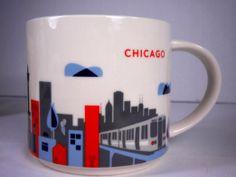 Starbucks Chicago You Are Here Collection Mug